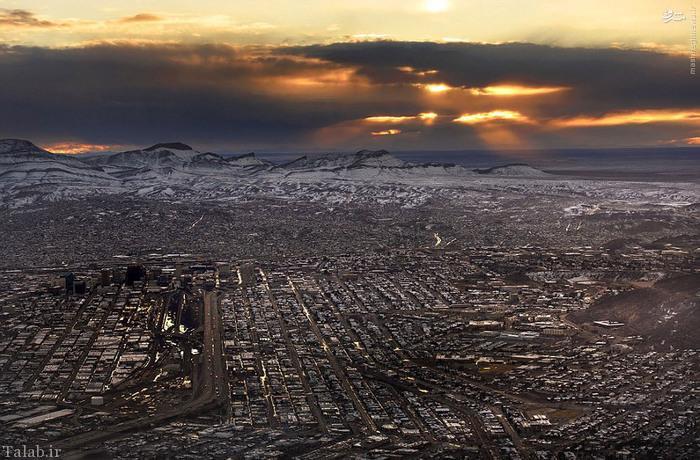 زیباترین عکس های هوایی جالب از آمریکا