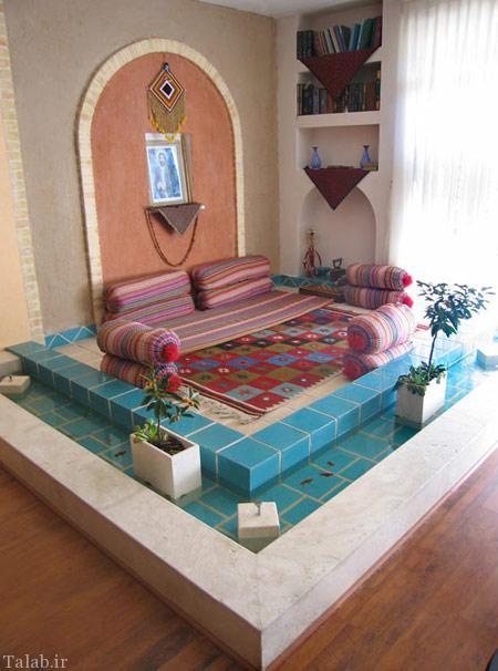 روش چیدمان منزل به سبک سنتی