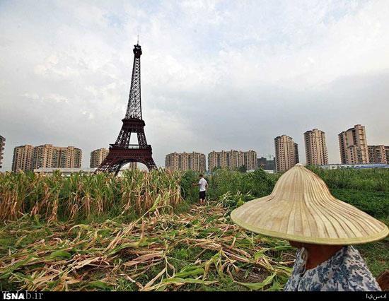 جاذبه های گردشگری تقلبی در چین + تصاویر