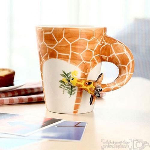 تصاویر دیدنی از فنجان های بامزه و خلاقانه