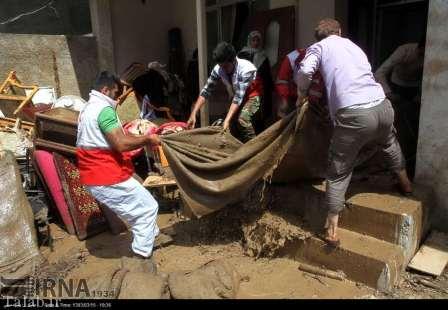 تصاویری از سیل در مازندران