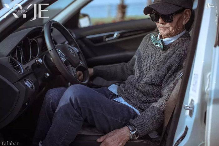 شهرت پیرترین مدلینگ جهان کشاورز 85 ساله