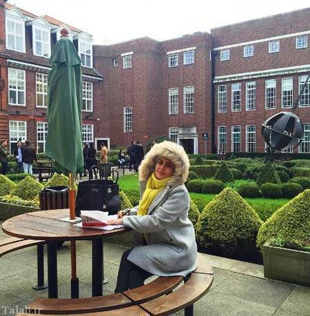 عکس های جذاب الناز شاکردوست در دانشگاه لندن