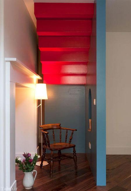 تصاویری از دکوراسیون و رنگ بندی خانه