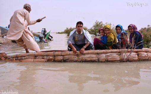 گشتی با صیاد 65 ساله و قایق کوچکش (عکس)