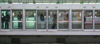 خودکشی در مترو و جلوگیری از اتفاق (عکس)