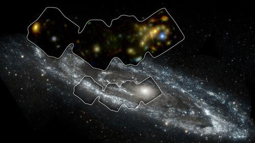 عجیب ترین عکس های ثبت شده کهکشانی 2016