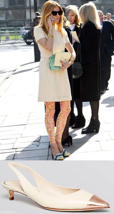 مدل کفش های فصل بهار به پیشنهاد ستارگان هالیوودی