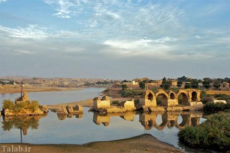 قدیمی ترین پل جهان، پل شادروان شوشتر + عکس