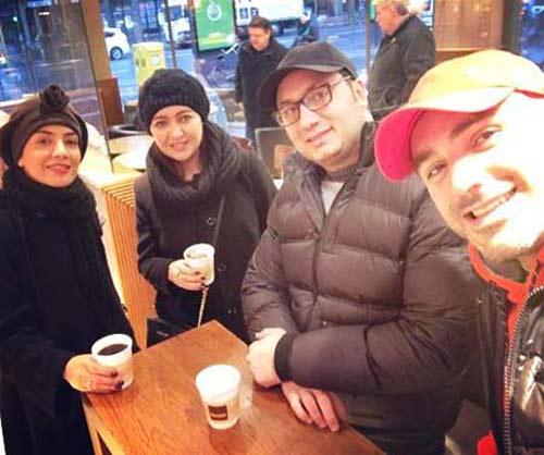 تیپ جذاب نیکی کریمی در آلمان (عکس)