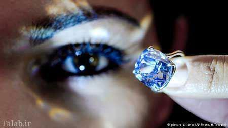 هدیه گرانترین الماس جهان مرد چینی به دخترش + عکس