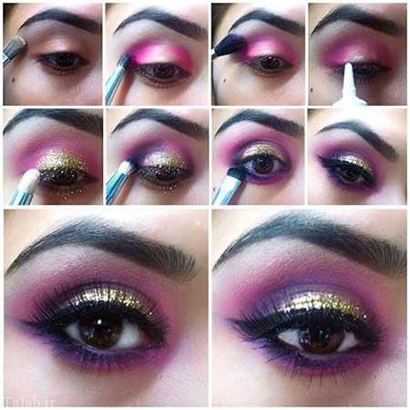 مدل های جدید و جذاب آرایش چشم خانم ها
