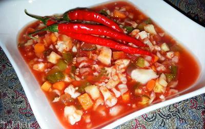 طرز تهیه 2 ترشی خوشمزه با گوجه فرنگی