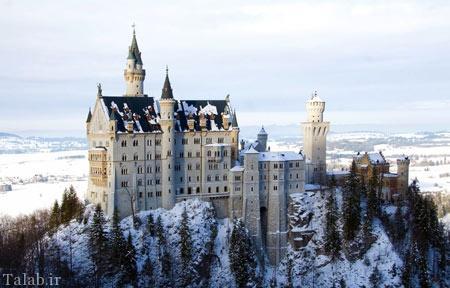 تصاویری از قصر نُویشوانشتَین در آلمان