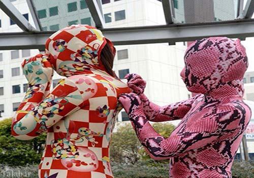اقدام عجیب ژاپنی ها برای درمان فشار عصبی + عکس