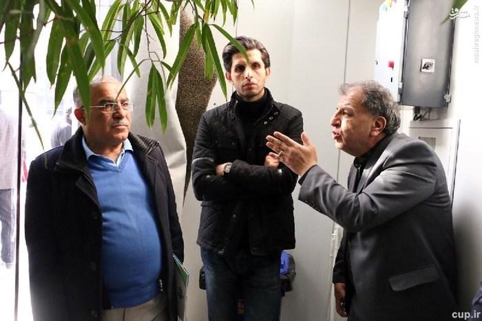 تصاویر جالب از حال وهوای بیمارستان پس از درگذشت رضا احدی