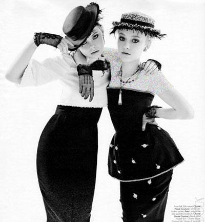 این دو خواهر دنیای مد را شگفت زده کرده اند
