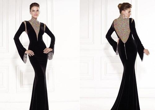 مدل لباس مجلسی گیپور و دانتل زنانه 2016