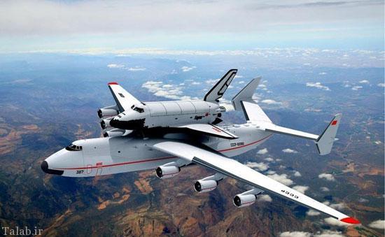 آنتونوف AN-۲۲۵ غول پیکرترین هواپیمای دنیا (عکس)