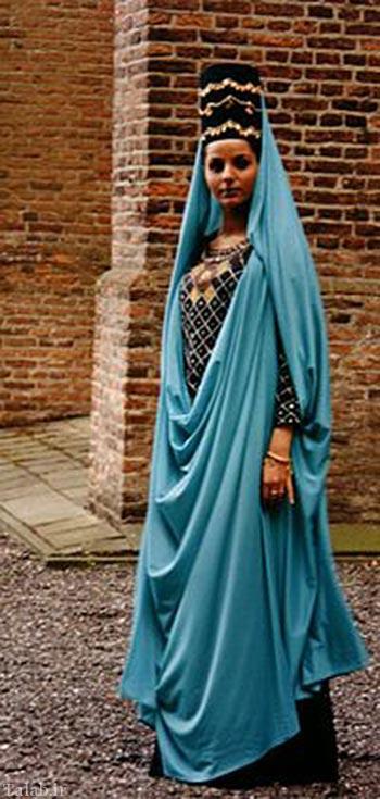 عکسهای لباس زنان ایرانی در دوره های مختلف تاریخ + عکس