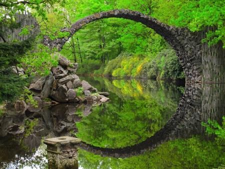تصاویری از 10 پل زيبا و شگفت انگیز در جهان