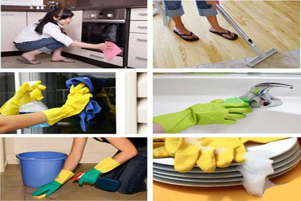 تمیز کردن خانه در کوتاه ترین زمان ممکن