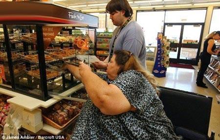 تصاویری از چاق ترین زن جهان