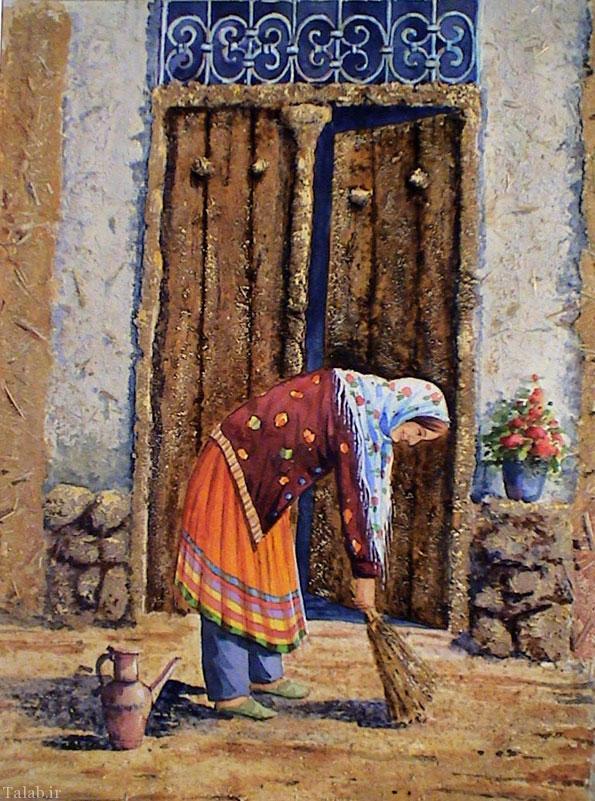 خانه تکانی برای نوروز