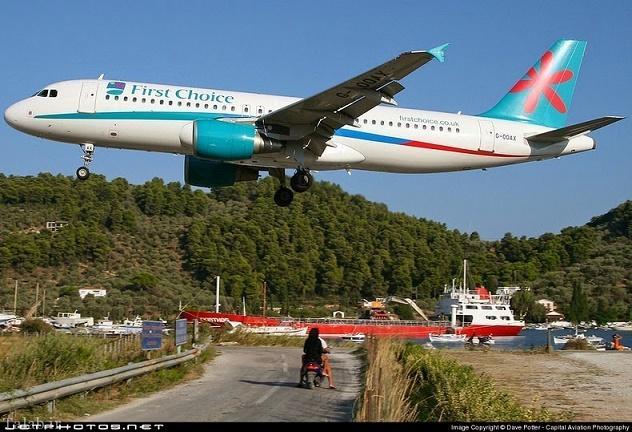تصاویری از خطرناک ترین فرودگاه جهان + تصاویر