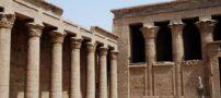 معبد تاریخی ادفو در مصر + عکس