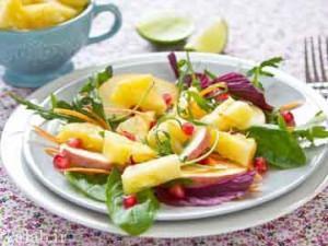 طرز تهیه هویج و سالاد میوه
