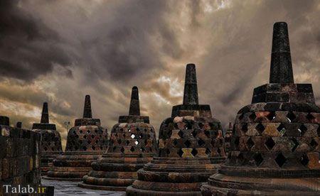 مجسمههای باستانی کشور اندونزی
