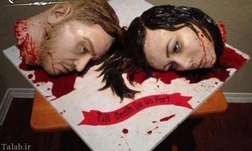 وحشتناک ترین کیک عروسی جهان