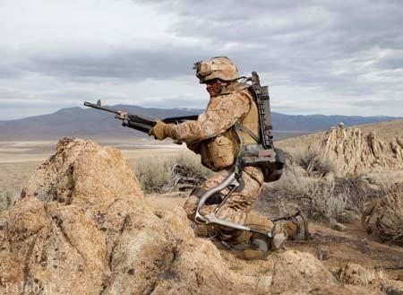 ارتش آمریکا با سربازان نیمه انسان – نیمه ربات