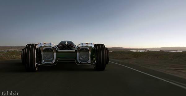 متفاوت ترین خودروی مسابقه قرن را ببنید + عکس