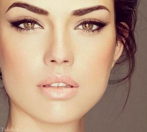 مدل میکاپ زنانه و دخترانه و مدل آرایش زنانه