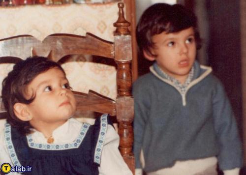 دعوای پرستو صالحی با برادرش به روایت تصویر