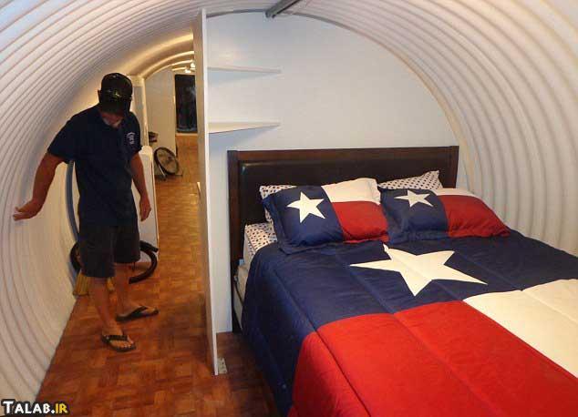 عکس هایی از پناهگاه لوکس زیر زمینی در آمریکا