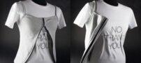 تی شرتی جالبی که ساک دستی میشه !! (+عکس)