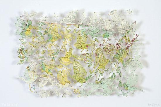 هنرنمایی زیبا با نقشه زمین + عکس