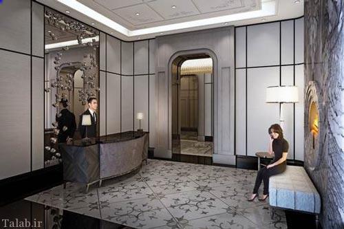 تصاویری از دکوراسیون های زیبای تالارها ، مهمان خانه ، لابی و هتل ها