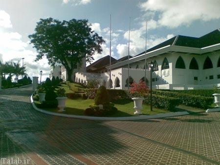 تصاویری از قصر آستانا در مالزی