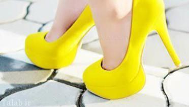 چگونگی راه رفتن با کفش پاشنه بلند
