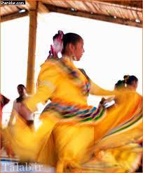 رقص 60 هزار دختر زیبا برای ازدواج با پادشاه + عکس