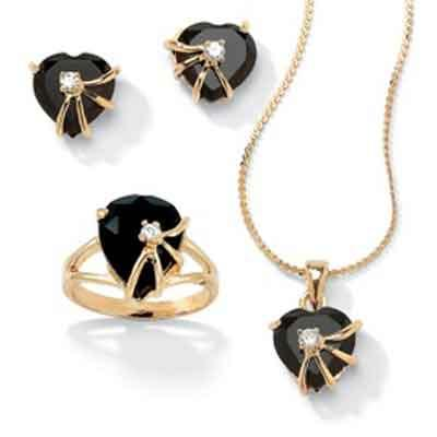 جدیدترین مدل نیم ست های طلا و جواهر