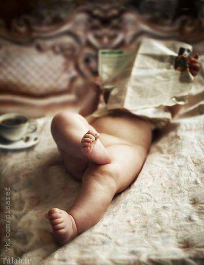 عکس های بامزه از نوزاد ناز و خوشگل (2)