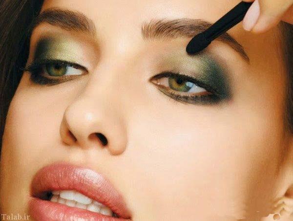 آخرین مدلینگ میکاپ و آرایش صورت ایرینا شایک مانکن روسی
