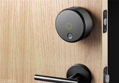 هوشمندترین قفل جهان به تلفن همراه متصل می شود