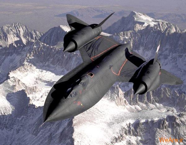هواپیمای جنگنده SR-71