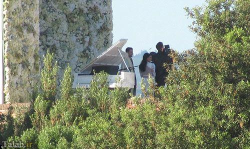 تصاویری از مراسم عروسی کیم کارداشیان و کانیه وست